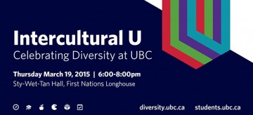 Intercultural U 2015: Celebrating Diversity at UBC