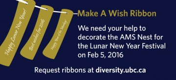 Make a wish ribbon for the Lunar New Year